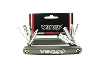 Мультитул VENZO 8in1 VZ-F-33-042 PSP-0397