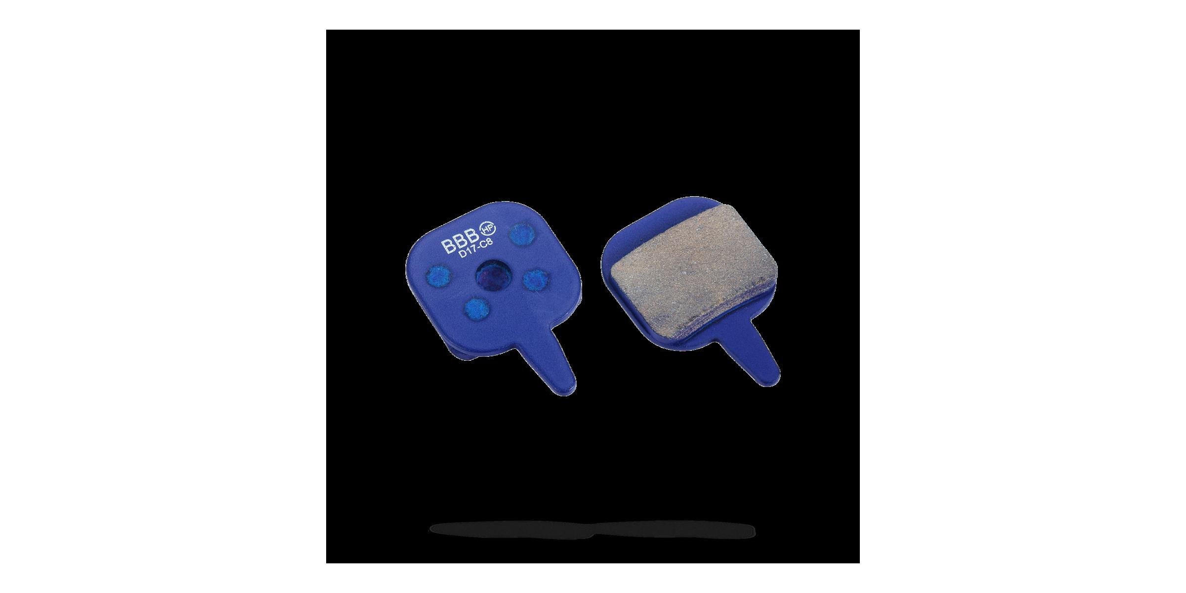 Колодки тормозные ВВВ BBS-75 PSP-04296