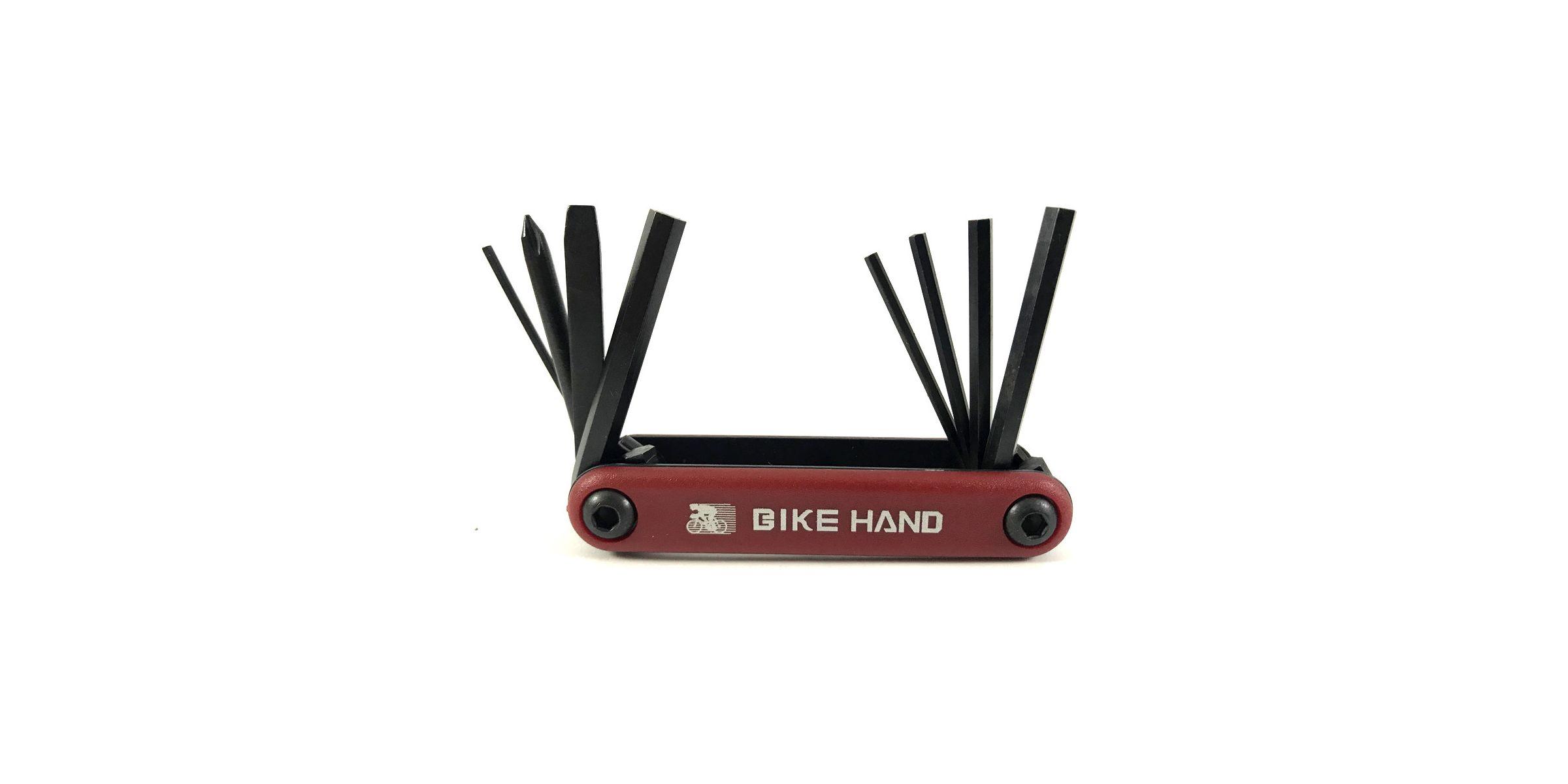 Мультитул BikeHand vz- F33 -077  Красный  8 в 1 PSP-04021
