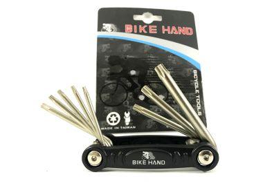 Мультитул BikeHand vz- F33 -078  Черный  8 в 1 PSP-04022